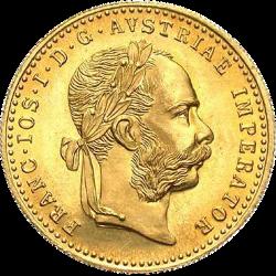 1 Ducat Francois-Joseph 1915 Or