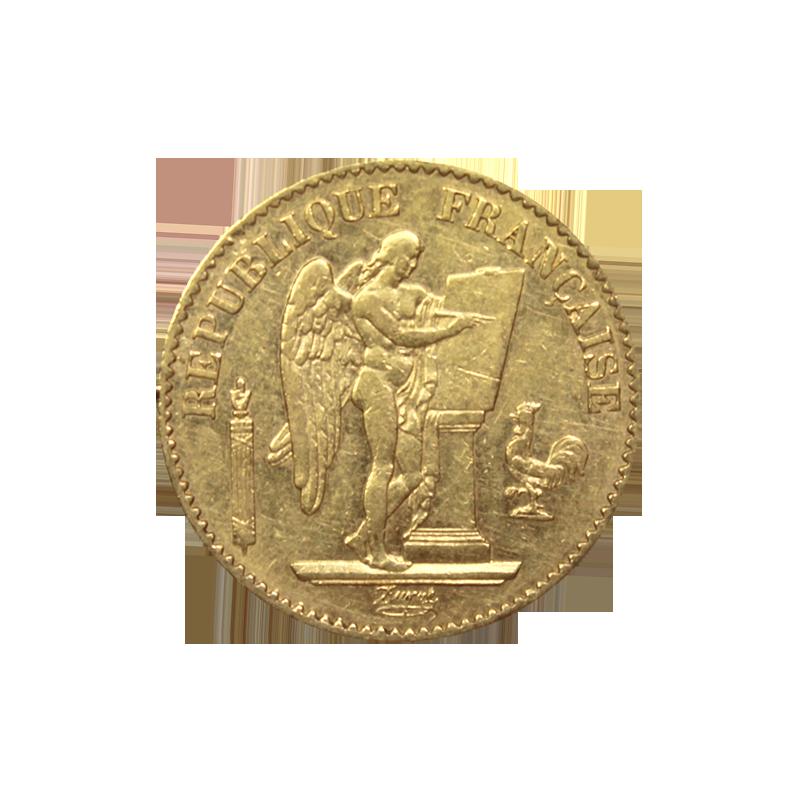 Napoleon Or 20 Francs Change De La Bourse
