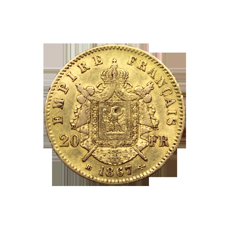 Napoléon Or 20 Francs | Change de la Bourse